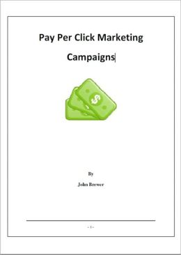 Pay Per Click Marketing Campaigns