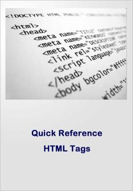 Quick Reference HTML Tags for Beginners