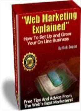 Web Marketing Explained