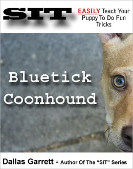 How To Train Your Bluetick Coonhound To Do Fun Tricks