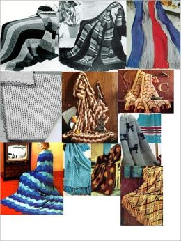 36 Vintage Knitting Afghan Patterns - 36 Homemade Knit Afghan Patterns - Baby Knit Afghan, French Poodles Afghan, Leaf Pattern Afghan Pattern and More