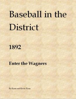 Baseball in the District 1892