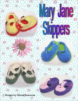 Mary Jane Skippers Crochet Bootie Pattern