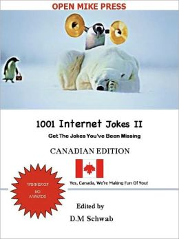 1001 Internet Jokes II - Canadian Edition (For Standard Nook)