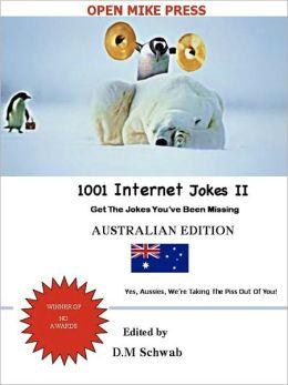 1001 Internet Jokes II - Australian Edition (For NOOKBook)