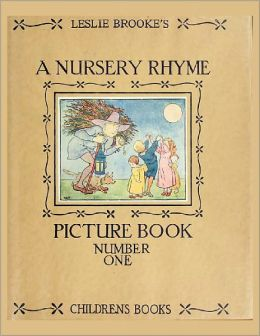 A NURSERY RHYME PICTURE BOOK WITH DRAWINGS IN COLOUR AND BLACK AND WHITE