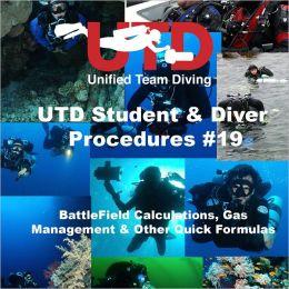 UTD Student & Diver Procedures #19 - Battlefield Calculation