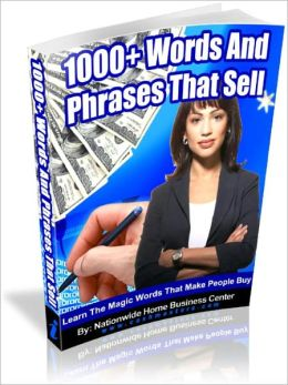1000+ Words and Phrases That Sell