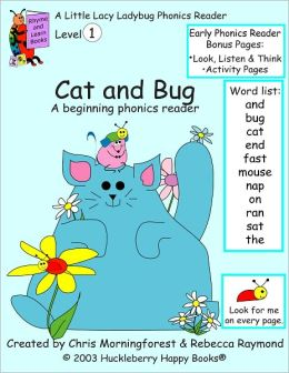 Cat and Bug - Level 1 Phonics Reader