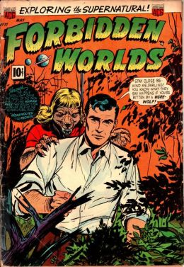 Vintage Horror Comics: Forbidden Worlds Issue No. 17 Crica: 1953