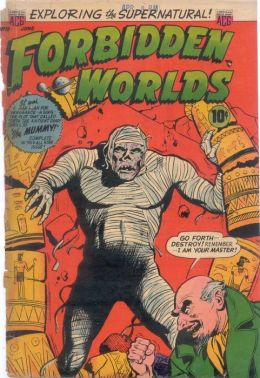 Vintage Horror Comics : Forbidden Worlds Issue No. 18 Circa: 1953