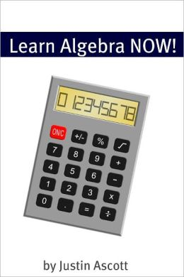 Learn Algebra NOW! Algebra for the Person Who Has Never Understood Math!