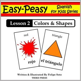 Spanish Lesson 2: Colors & Shapes (Learn Spanish Flash Cards)