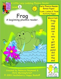 Frog - a level 1 phonics reader