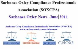 Sarbanes Oxley News, June 2011