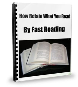 How To Retain What You Read by Fast Reading
