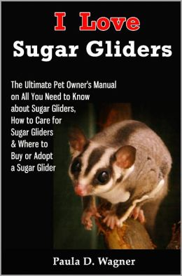 I Love Sugar Gliders: The Ultimate Pet Owner's Manual on All You Need to Know about Sugar Gliders, How to Care for Sugar Gliders & Where to Buy or Adopt a Sugar Glider