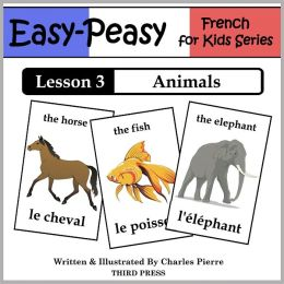 French Lesson 3: Animals (Learn French Flash Cards)
