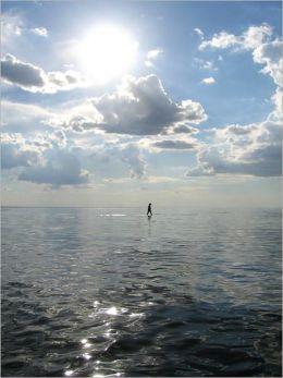 Man on the Ocean [Illustrated]