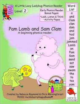 Pam Lamb and Sam Clam - Level 2 Phonics Reader