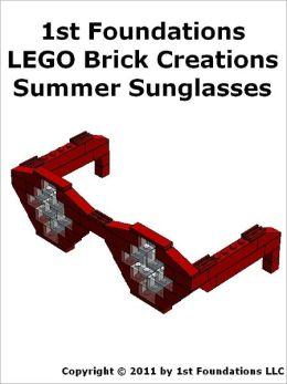 1st Foundations LEGO Brick Creations - Summer Sunglasses