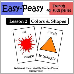 French Lesson 2: Colors & Shapes (Learn French Flash Cards)