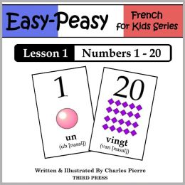 French Lesson 1: Numbers 1 to 20 (Learn French Flash Cards)