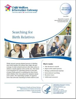 Searching for Birth Relatives