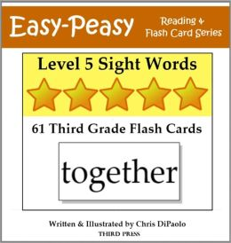 Level 5 Sight Words: 61 Third Grade Flash Cards (aka Dolch Words or High Frequency Words)