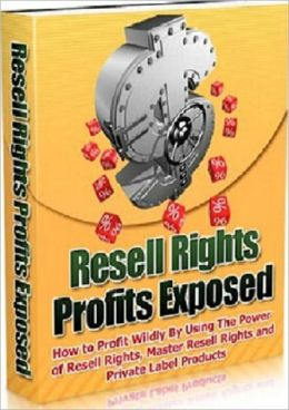 An Amazing Money Making Opportunity - 20 Powerful Tips - Resell Right Profit Exposed by Using the Power of Resell Rights, Master Resell Rights and Private Label Products