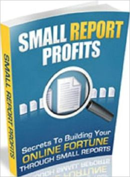 Substantial Earning Potential - Small Report Profit