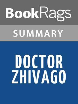 Doctor Zhivago by Boris Pasternak l Summary & Study Guide