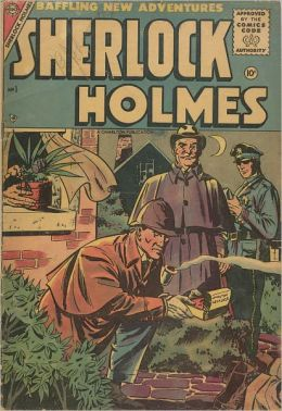 Sherlock Holmes - No. 1 - Baffling New Adventures (Comic Book)