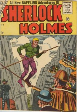 Sherlock Holmes - No. 2 - All New Baffling Adventures (Comic Book)