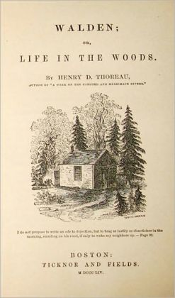 Walden - Henry David Thoreau - Original Version