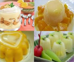 Delicious Puddings - Collection of 167 Pudding Recipes - Pudding recipes will make your mouth water and make you want them right away.