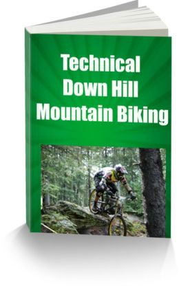 Technical Down Hill Mountain Biking