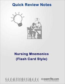 Nursing Mnemonics (Flash Card Style)