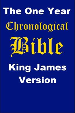 One Year Chronological Bible King James Version