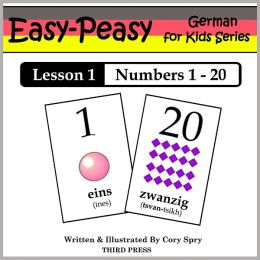 German Lesson 1: Numbers 1-20 (Learn German Flash Cards)