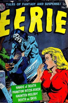 Vintage Horror Comics: Eerie No. 9 Circa 1952: Princess of the Subway