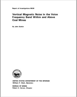 Vertical Magnetic Noise in the Voice Frequency Band Within and Above Coal Mines