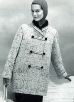 Knitting Patterns for Coats – 4 Vintage Knitting Patterns for Coats for Women