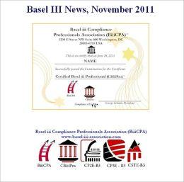 Basel III News, November 2011