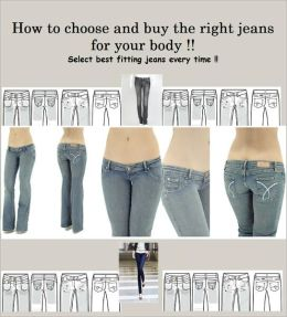 Blue Jeans - How to choose and buy the right jeans for Women's Wear Daily and Select best fitting jeans every time!!