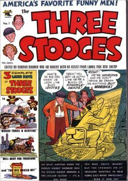 The Three Stooges - Issue #1 (Comic Book)