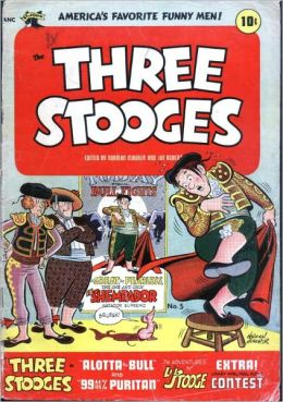 The Three Stooges - Issue #5 (Comic Book)