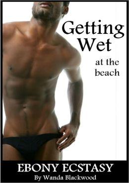 Getting Wet at the Beach (Ebony Ecstasy)