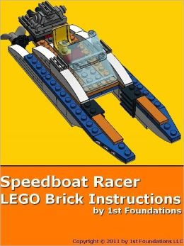 Speedboat Racer - LEGO Brick Instructions by 1st Foundations
