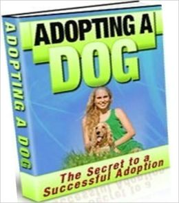 eBook about Family Activities eBook - Adopting A Dog - Preparing Your Home & Family for Your New Dog!